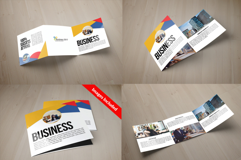25-square-trifold-brochures-bundle