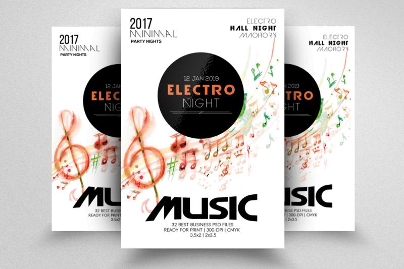 music-flyer-template