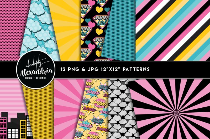 supergirl-graphics-and-patterns-bundle