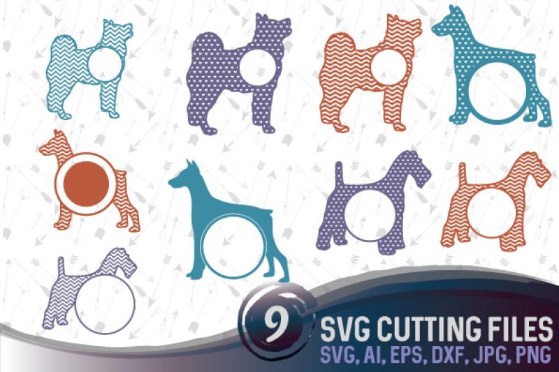 9-dog-monograms-bundle-svg-eps-png-jpg-dxf-ai