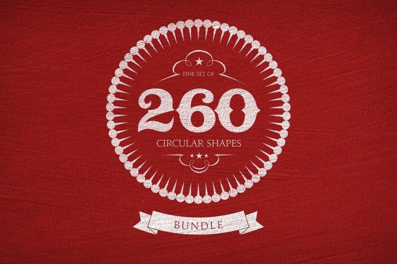 260-circular-shapes-vector-bundle
