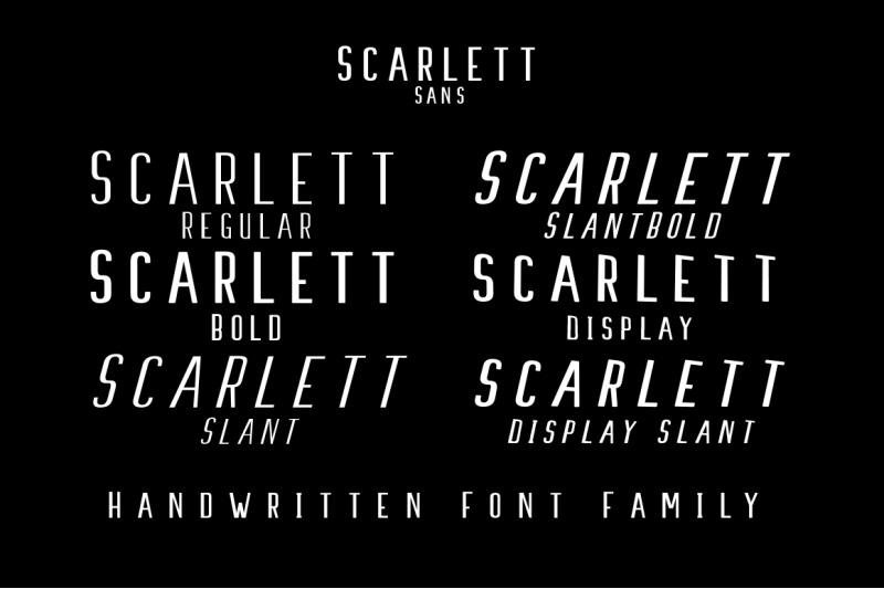 promo-week-scarlett-font-family