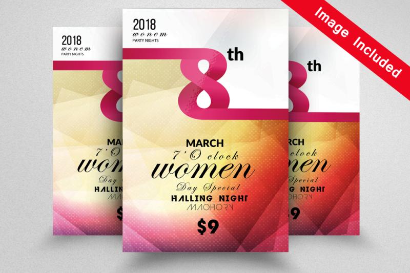 women-s-day-celebration-flyer