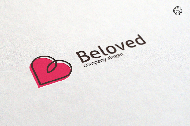 beloved-letter-b-logo-template