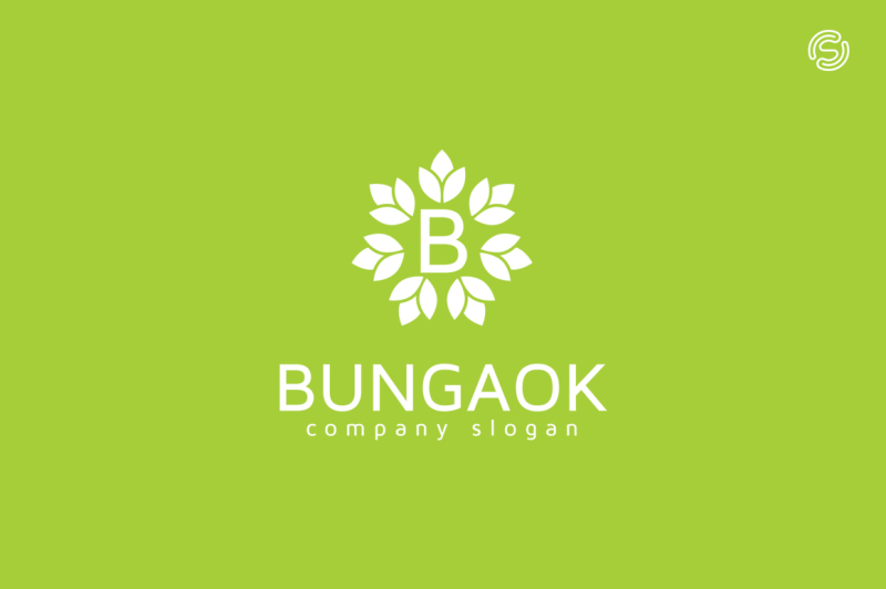 bungaok-logo-template