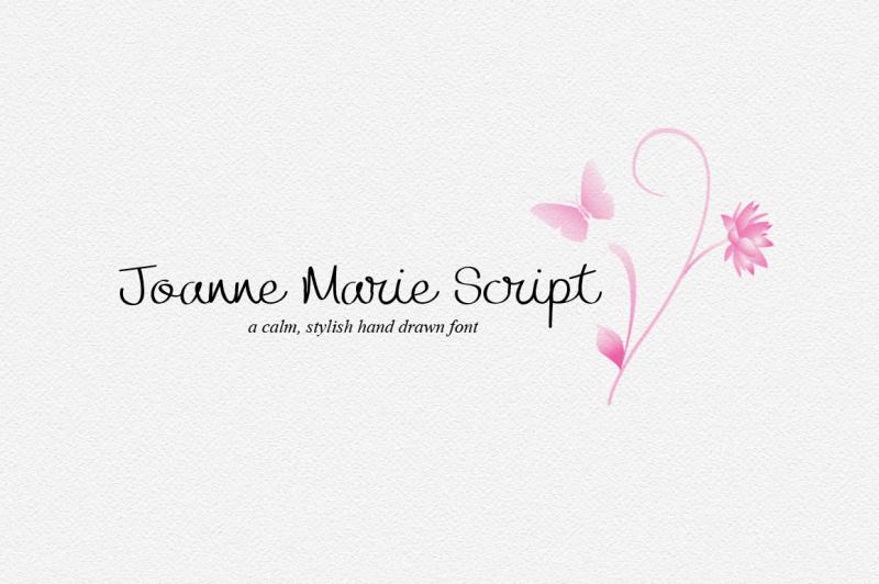 joanne-marie-script-font