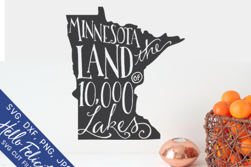minnesota-land-of-10-000-lakes-svg-cutting-files
