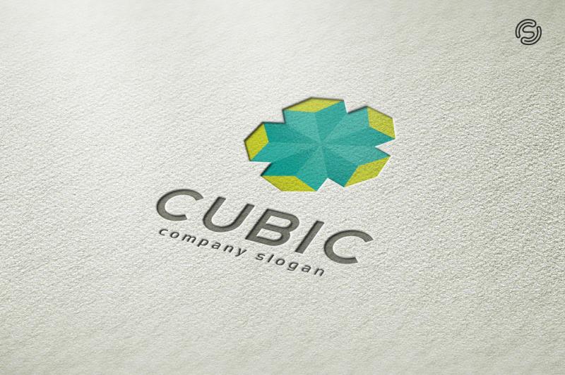 cubic-logo-template