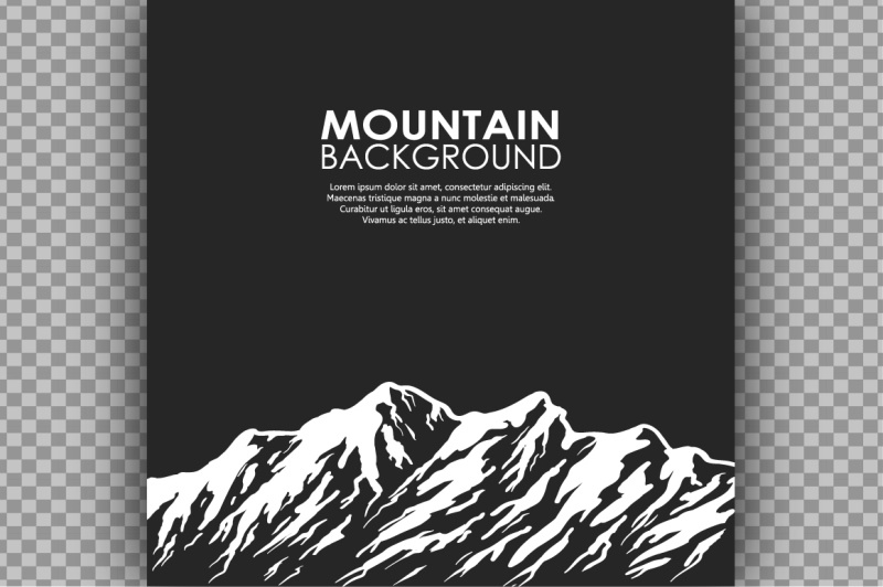 mountain-range-vector-bundle