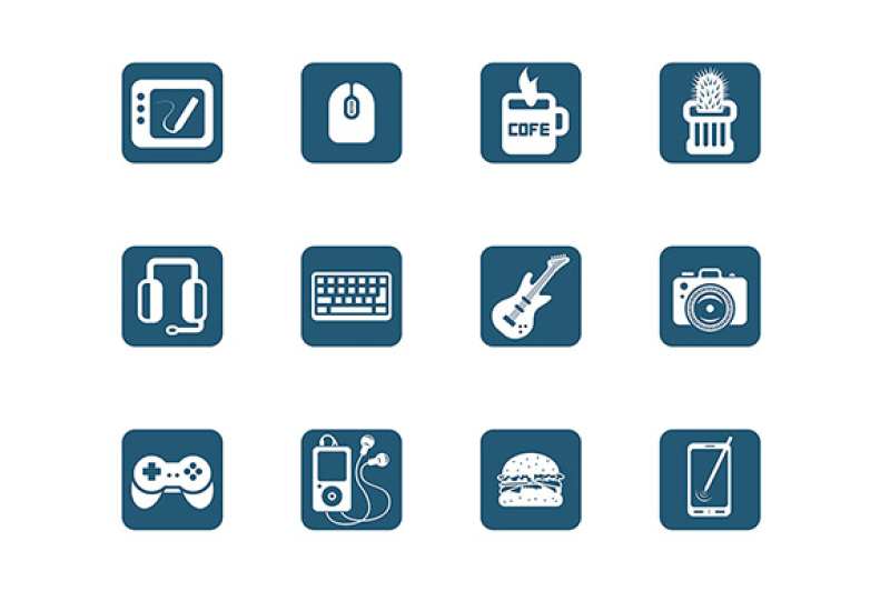 multimedia-icons
