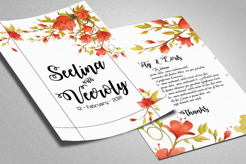 floral-wedding-invite-template