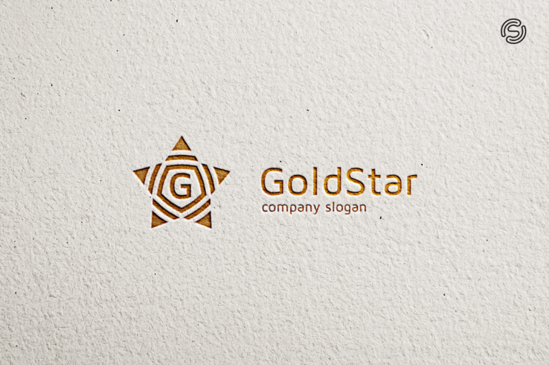 gold-star-logo-template
