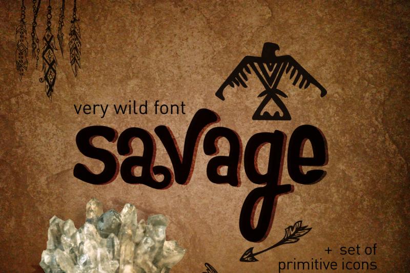 wild-font-savage