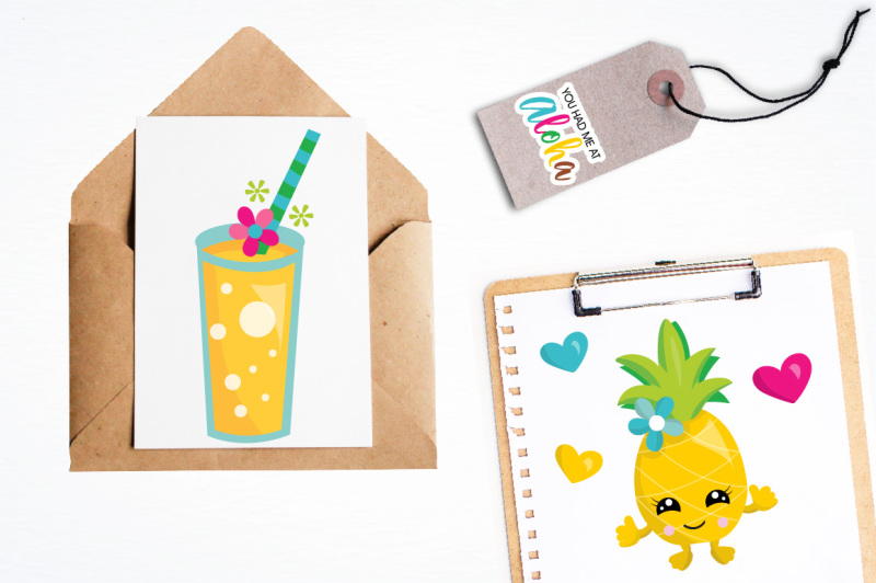 pineapple-party-illustrations-and-graphics