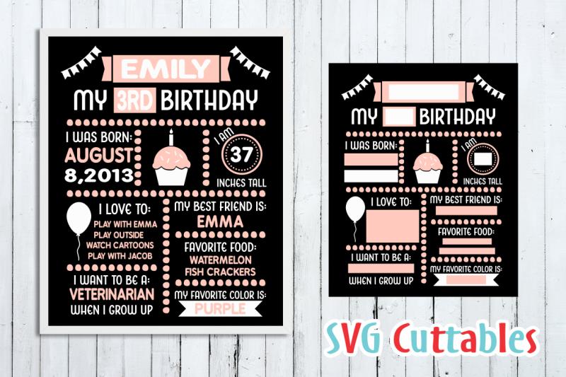 birthday-board-cut-file