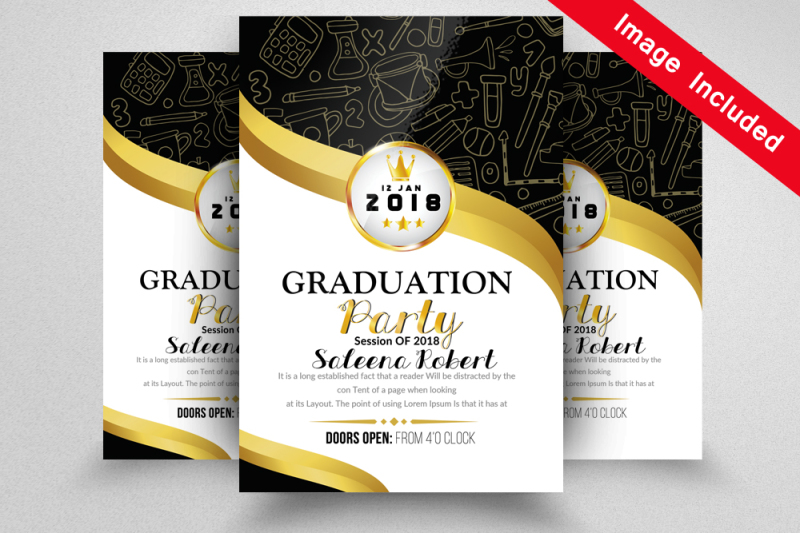 graduate-announcement-flyer-templates