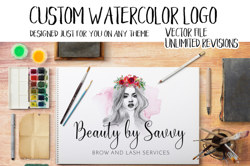 custom-watercolor-logo-made-just-for-you-on-any-theme