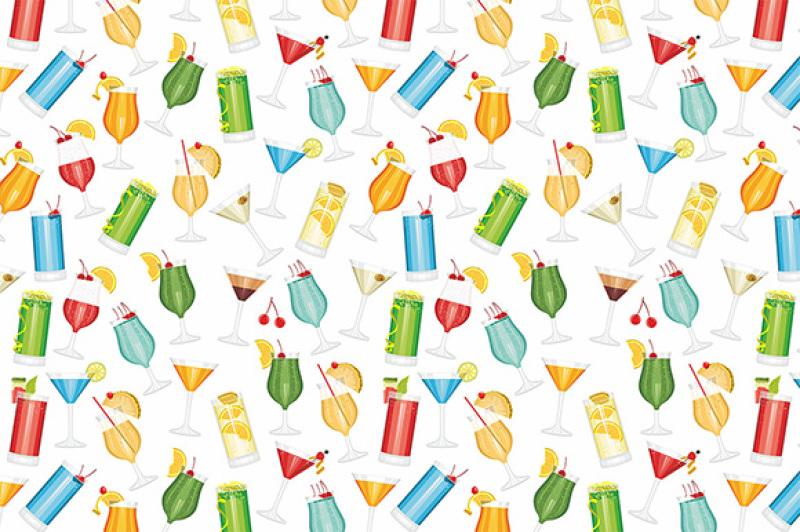 cocktails-seamless-pattern