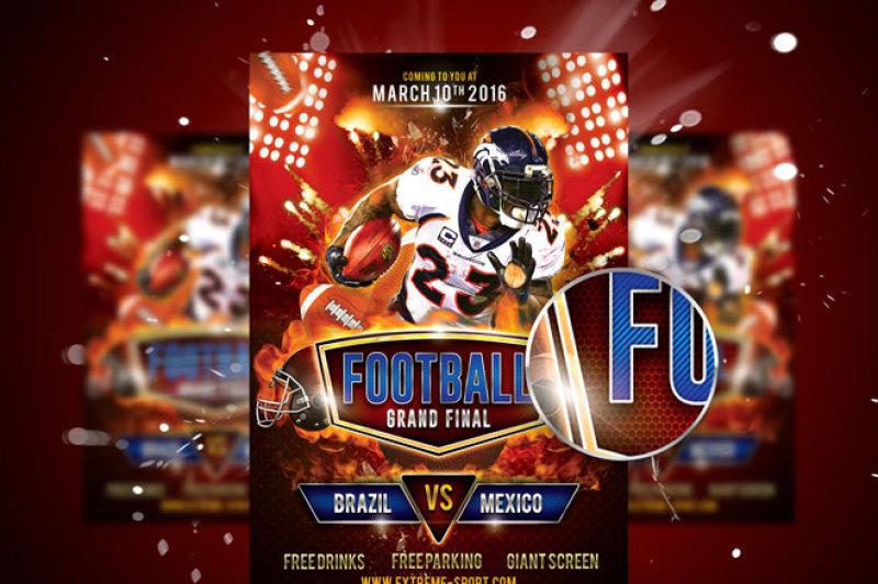 football-flyer