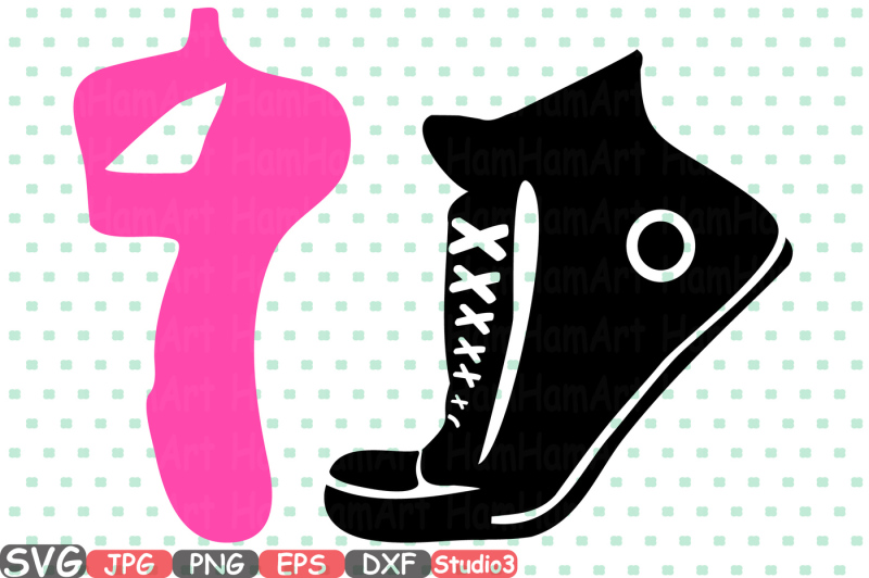 sneakers-and-ballet-shoes-svg-silhouette-cutting-files-sign-icons-dance-slippers-cricut-design-studio3-cameo-vinyl-monogram-clipart-668s
