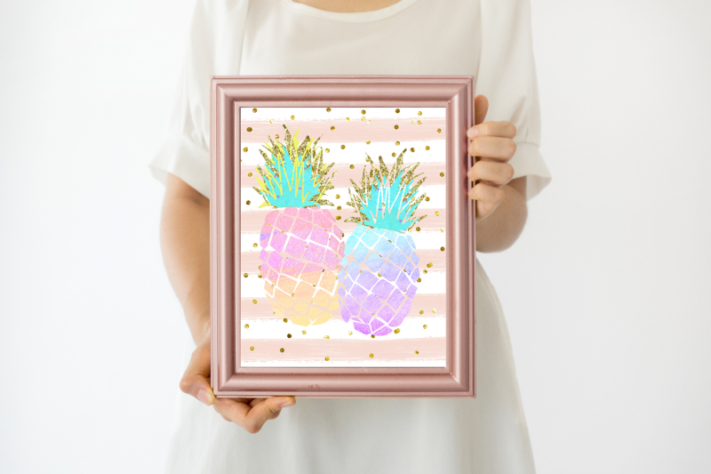 rose-gold-frame-mock-up-gold-rose-mock-up-frame-8x10-rustic-pink-gold-frame-rose-gold-mock-up-frame-wall-art-display-template-styled