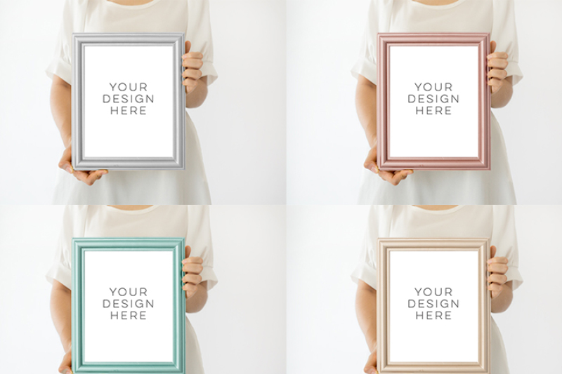 frame-bundle-mockup-collection-of-frame-mock-up-download-modern-digital-frame-scandinavian-style-product-mockup-empty-frame-stock-photo