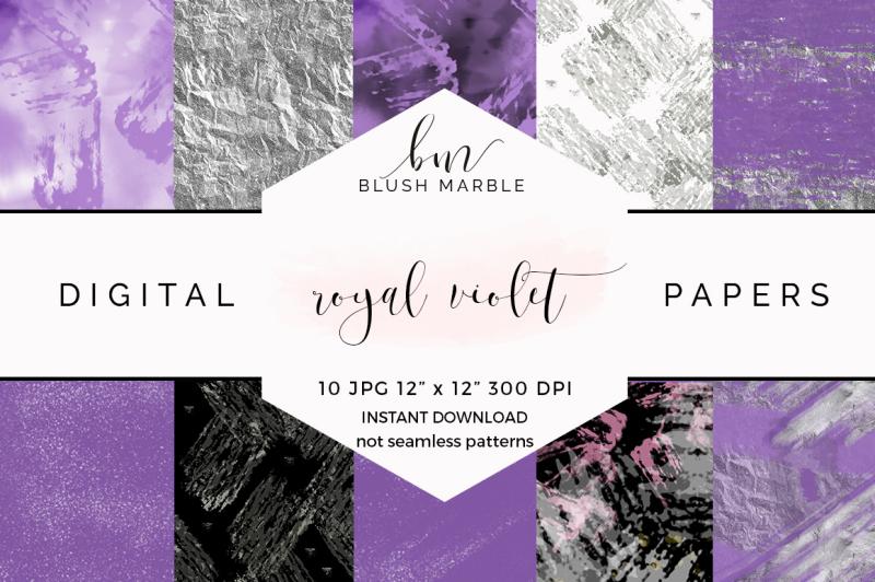 digital-paper-royal-violet