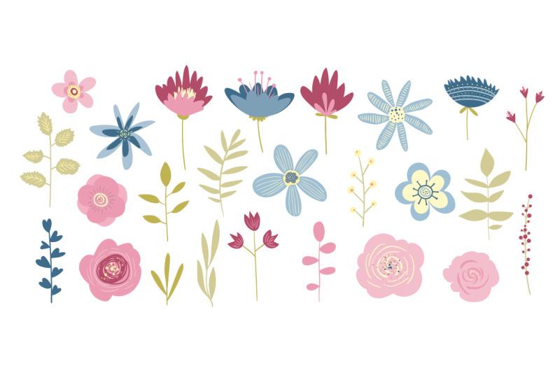 gentle-vector-floral-set-elements-bouquets