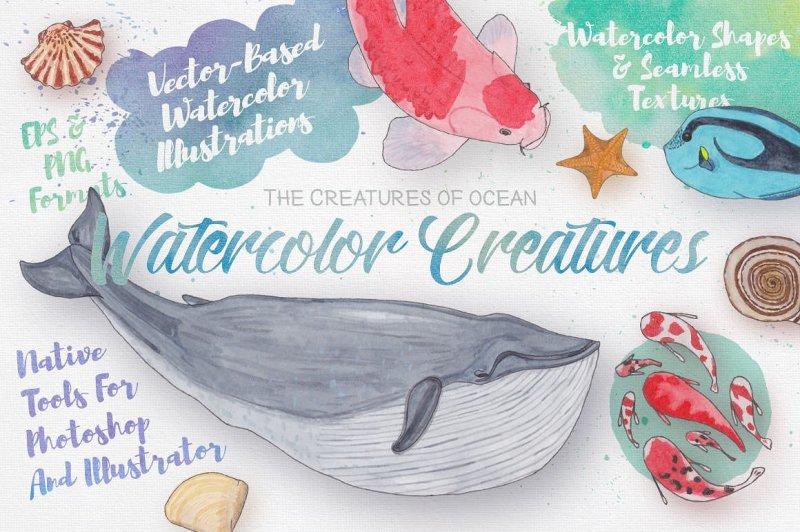 watercolor-creatures-vol-3