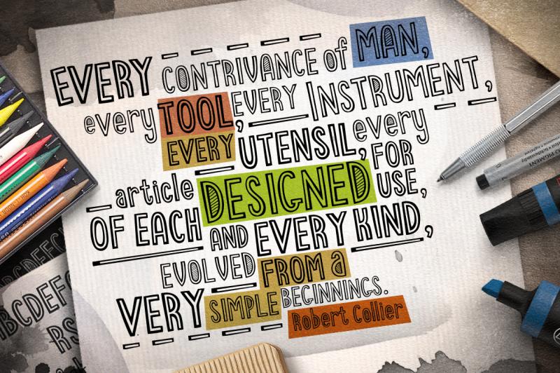 stripecomic-typeface