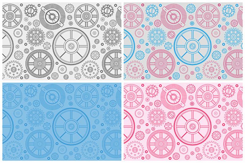 seamless-pattern-of-gears