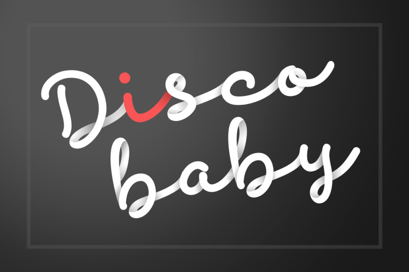 discobaby-font