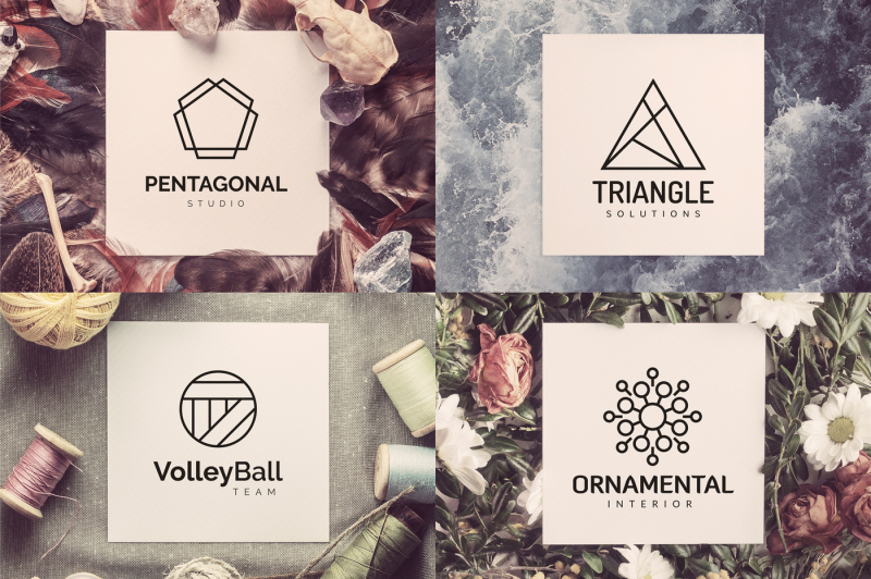 110-geometric-logo-pack