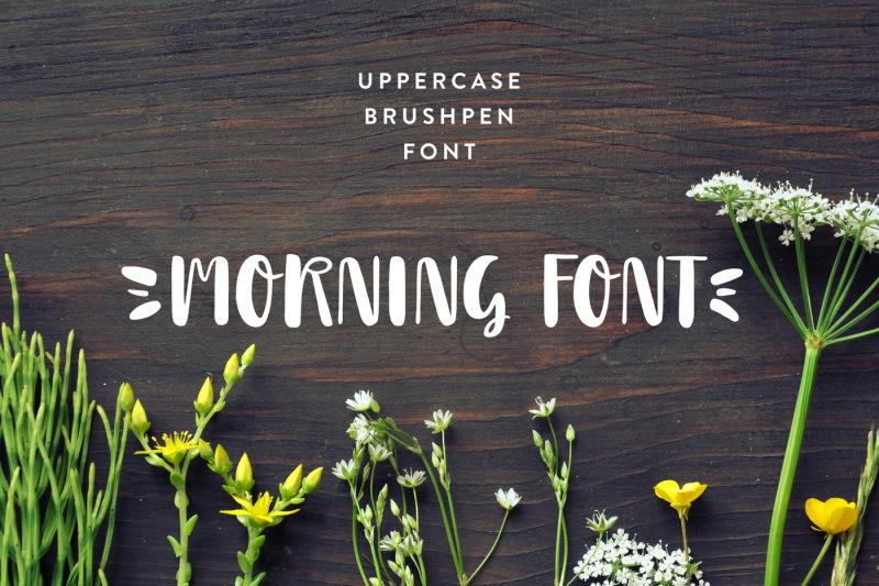 morning-font