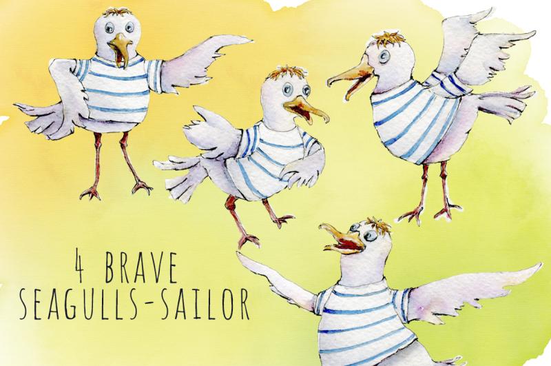 seagulls-watercolor