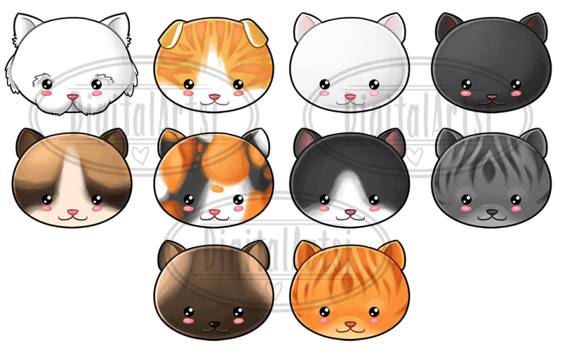 kawaii-cats-clipart