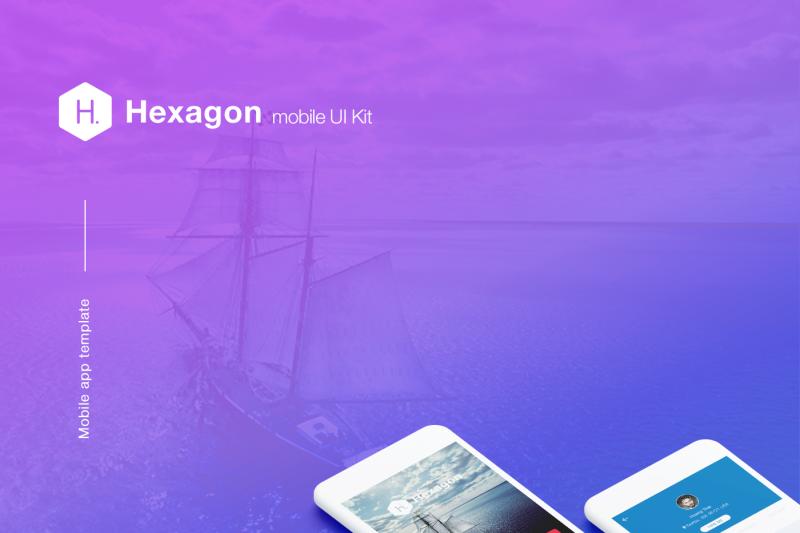 hexagon-mobile-ui-kit