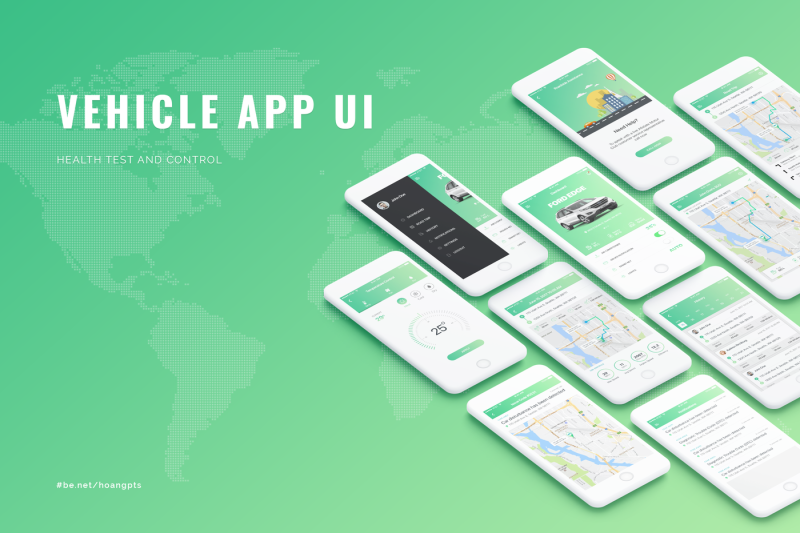 vehicle-app-ui-concept