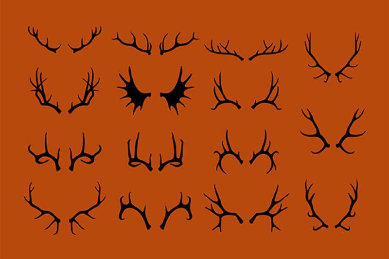 deer-antlers-set