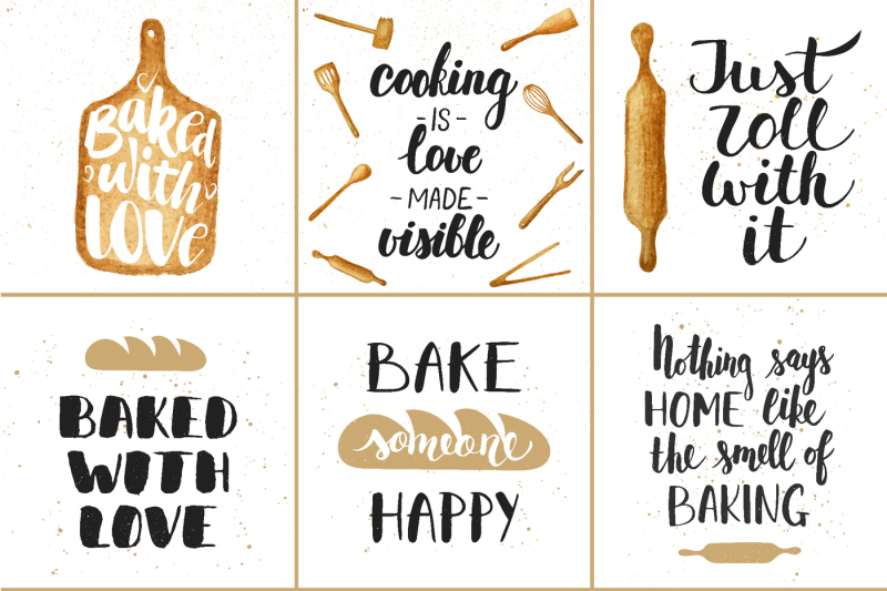 Bakery Quotes And Posters By Mia Akimo Thehungryjpeg Com