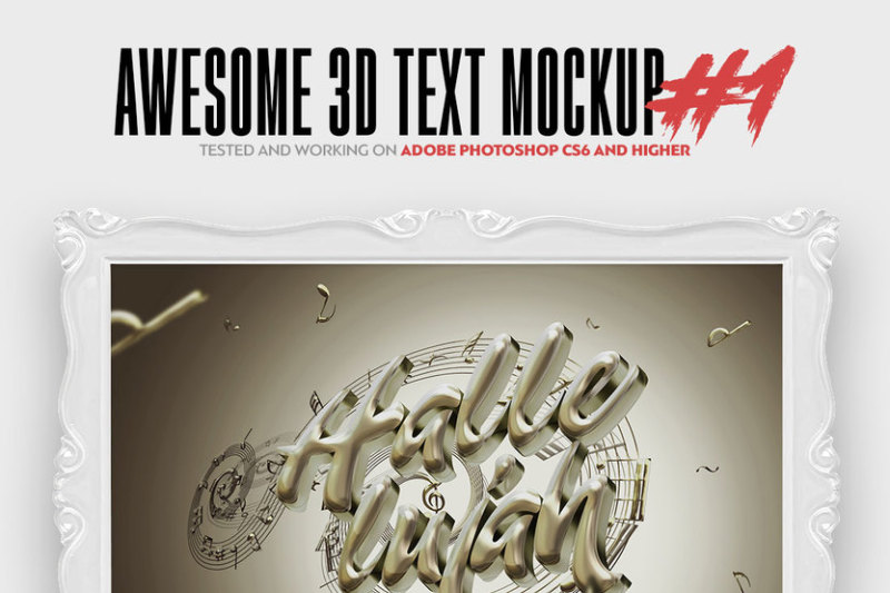 awesome-3d-text-mockup-bundle