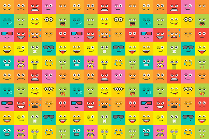 colorful-emotions-seamless-pattern