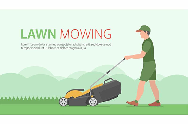 man-on-tractor-lawnmower