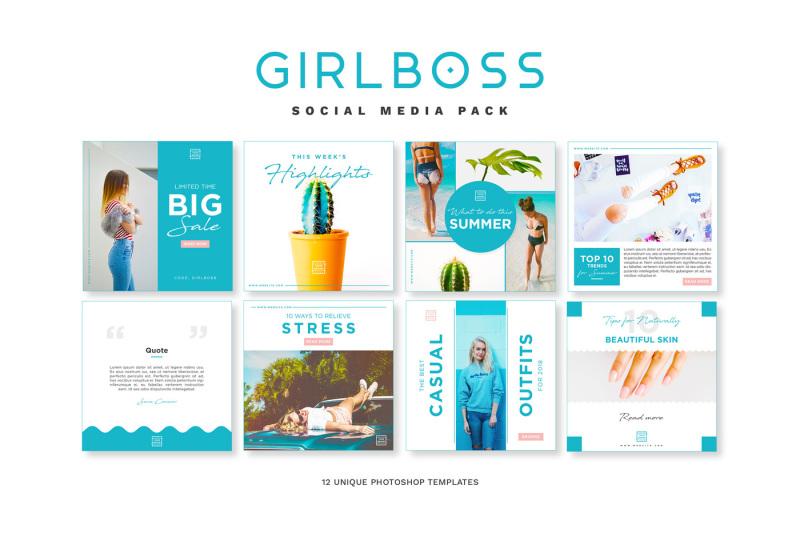 girlboss-social-media-pack