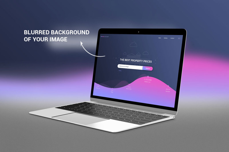 Free New MacBook Photorealistic Mockup (PSD Mockups)