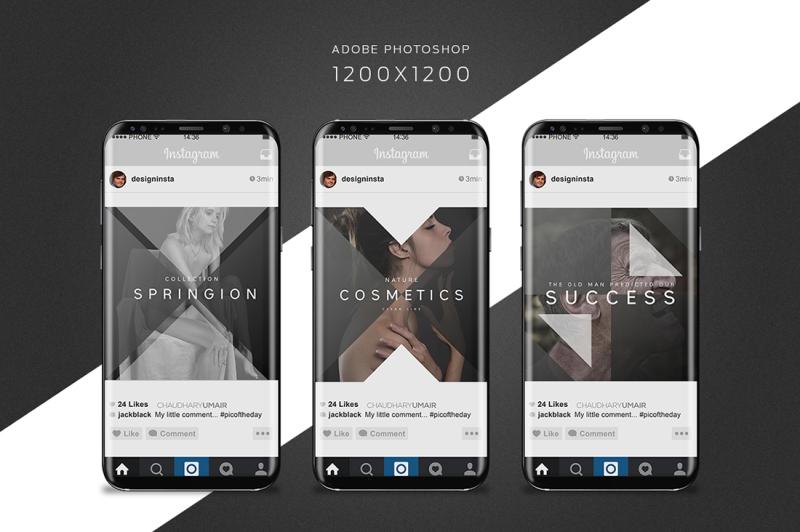 12-instagram-templates-social-media