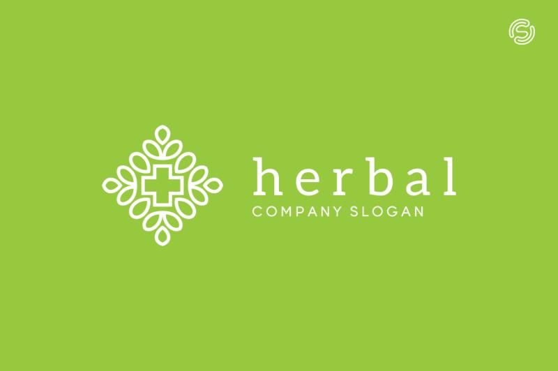 herbal-logo-template