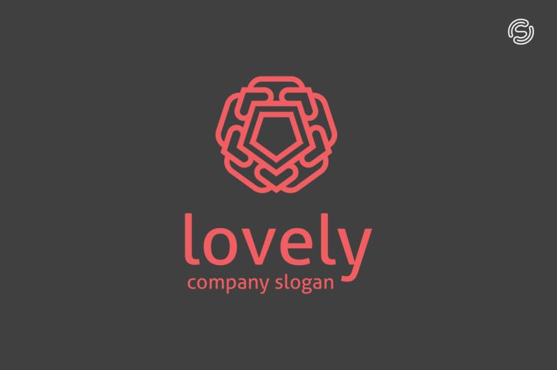 lovely-logo-template
