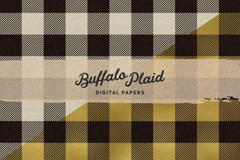 vintage-buffalo-plaid-digital-papers-buffalo-check