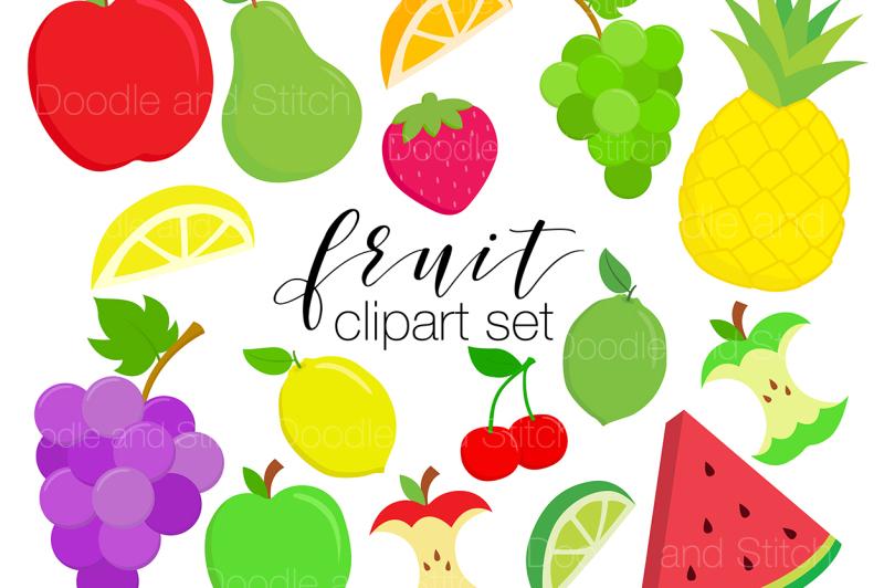 fruit-clipart-illustration-set
